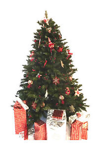 6ft Deluxe Alpine Spruce Christmas Tree ~ Very Realistic ~ Highest Quality!