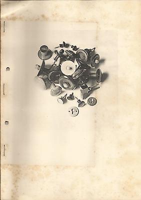 1929 Eckrich & Schwarz MANNHEIM moderne Möbelbeschläge Büffelhorn antik Katalog