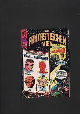 Fantastistische Vier 1974 Nr. 7 im Top Zustand (0-1/1)-(0-1)  Williams Verlag