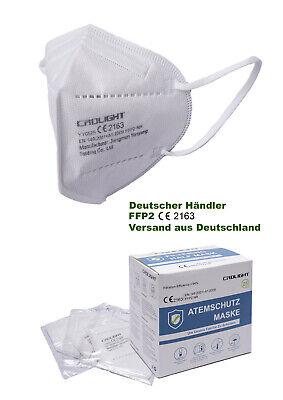 25 Stück FFP2 CRDLIGHT Mundschutz Maske Atemschutzmaske 5-lagig CE zertifiziert