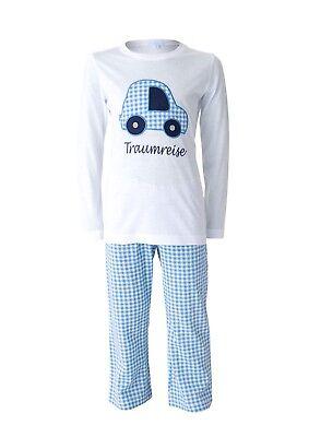Traumreise Pyjama Louis & Louisa 116 - 122 Auto