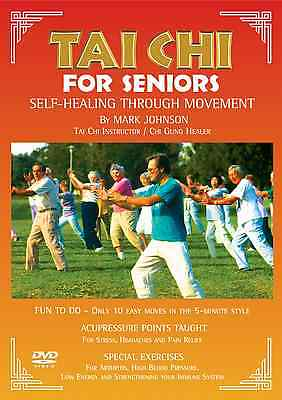 Tai Chi for Beginners / Seniors (DVD Video) Easy to Follow (60 Min) Mark Johnson