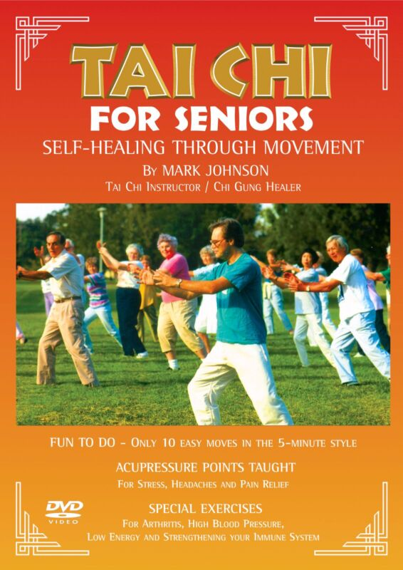 Tai Chi for Beginners / Seniors (DVD Video) Easy to Follow (60 Min) Mark Johnson
