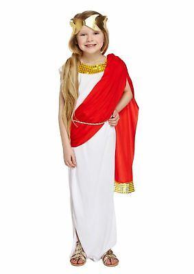 Römerin Toga Kinder Römerkostüm Kleid Griechisch Römische Göttin - Römische Toga Kostüm