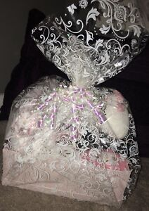 It's a Girl baby shower gift basket