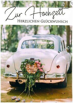ochzeit Herzlichen Glückwunsch Großformat XXL 14 (Herzlichen Glückwunsch Zur Hochzeit)