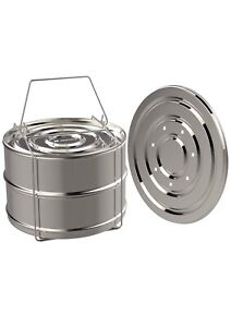 ekovana Stackable Stainless Steel Insert Pans Instant Pot