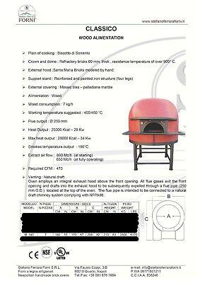 Used Neapolitan Pizza Oven-stefano Ferrara - M140