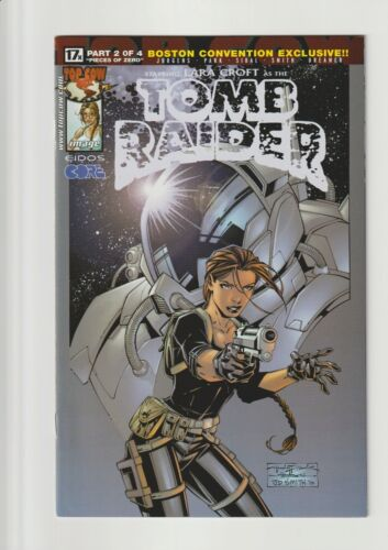 TOMB RAIDER: THE SERIES #17 NM 9.4 (BOSTON CONVENTION EXCLUSIVE) HTF! 2001
