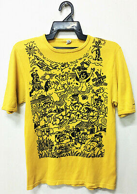 VINTAGE 70s POP ART INTERNATIONAL TOURISM-EXCHANGE ITB BERLIN T-SHIRT TRADE FAIR