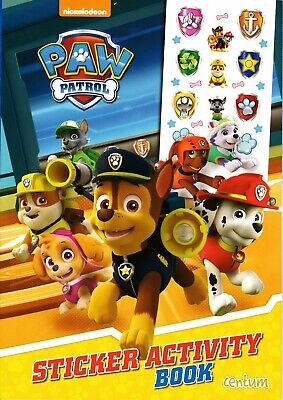 Paw Patrol Sticker Activiy Book. Kids Children's Activity Book Gift.