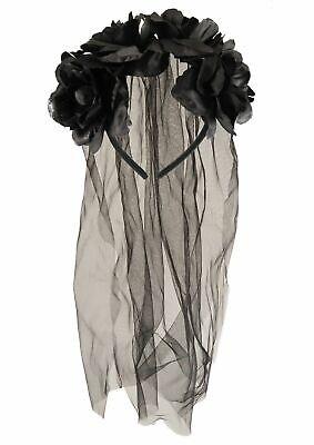 Halloween Zombie Bride Veil (ZOMBIE CORPSE DEAD BRIDE VEIL HEADBAND HALLOWEEN FANCY DRESS COSTUME)