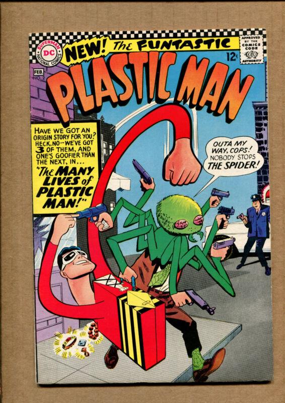 Plastic Man #2- Grade 7.0 - 1967 WH