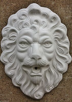 Gargoyle Lion Head Lion for the Wall 42 cm H New Frostproof 4782