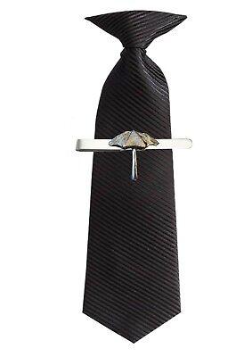 Parasol Umbrella 2.2x2.5cm ft110 Fine English Pewter on a Tie Clip (slide)