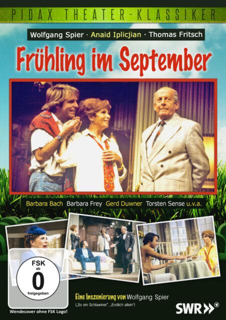 Frühling im September * DVD Wolfgang Spier Komödie von Marcel Mithois Pidax Neu