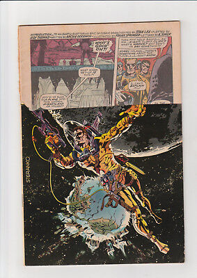 Nick Fury, Agent of SHIELD #6 ( 1968, Marvel) Nice but logo cut off