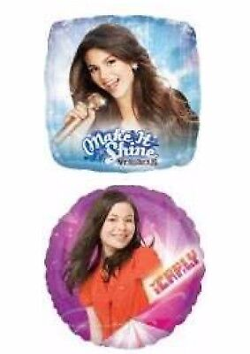 Kids TV Balloons Party Ware Decoration iCarly Victorious Fosters Home WWE Helium