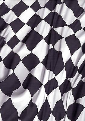 Flag Transfer (Wassertransferdruck Folie Race Flag Racing Flagge - 100cm breit)