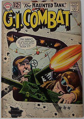 G.I. Combat #97 (Dec 1962-Jan 1963, DC), VFN-NM condition, Haunted Tank