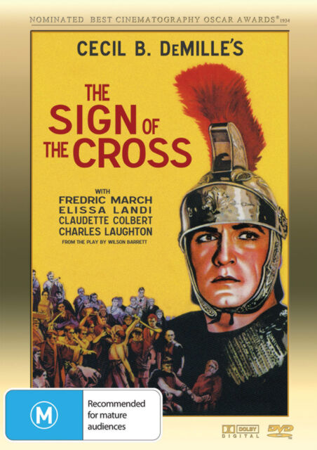 The Sign of the Cross (1932) * Cecil B. DeMille * Fredric March * Rare Gem *