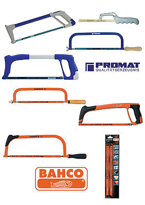 PROMAT/BAHCO Handsägen Metallsägen Sägebögen Sägeblätter