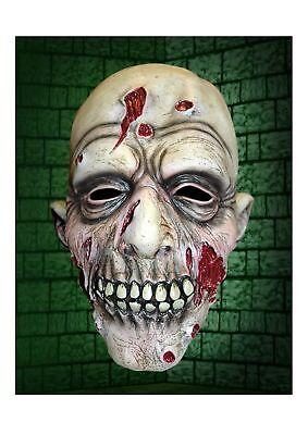 Adult Latex Grey Zombie Halloween Mask Full Head Walker FRED Fancy Dress Undead](Fred Halloween Mask)