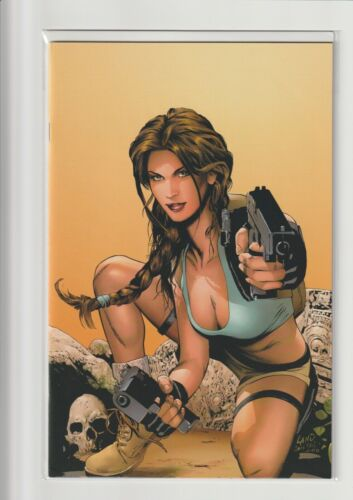 TOMB RAIDER #40 NM VIRGIN EDITION (DYNAMIC FORCES EXCLUSIVE) *LTD 1,000* 2004