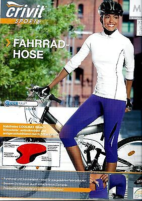 Damen Fahrradhose Radhosen 3/4 Caprihose Freizeithosen Hosen