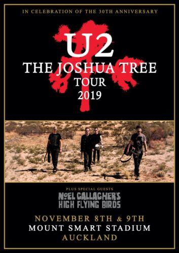 BAND MUSIC 48539 U2 JOSHUA TREE POSTER 24x36