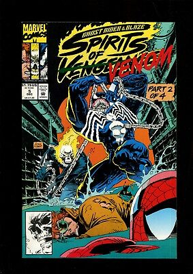 GHOST RIDER/ BLAZE SPIRITS OF VENGEANCE 5 (9.2) VS VENOM MARVEL (Ghost Rider Vs Ghost Rider Spirit Of Vengeance)