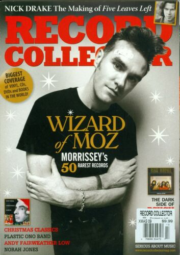 Morrissey Record Collector Magazine #370 2009 the smiths