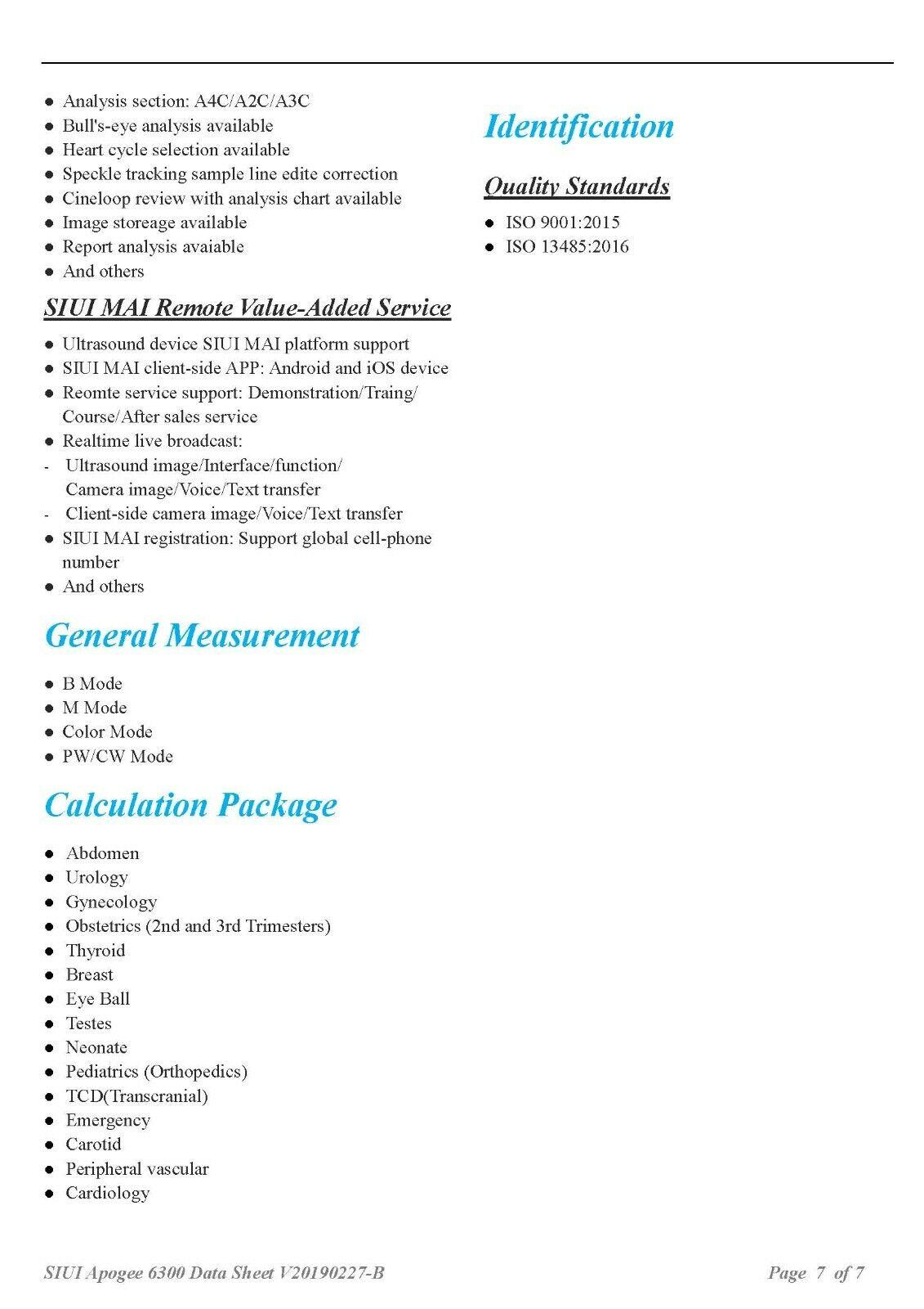 NEW ULTRASOUND MACHINE SIUI APOGEE 6300 W/ 2 PROBES (DICOM) (NEW)