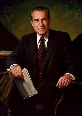 President Richard Nixon Official PHOTO, Portrait Art Print WHITE HOUSE Watergate