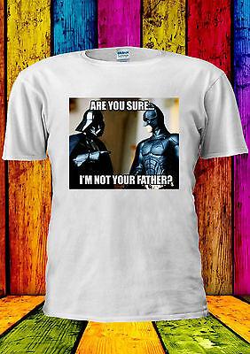 Star Wars Darth Vader Batman Funny T-shirt Vest Tank Top Men Women Unisex 2244