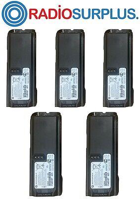 5x Motorola Oem Nntn6034 Impres Battery For Xts4250 Xts3000 Xts5000