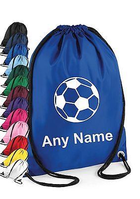 Personalisiert Jungen Mädchen Fußball-kit Sporttasche Schwimmen Pe Schule Sport