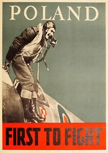 Reproduction Vintage World War Poster,