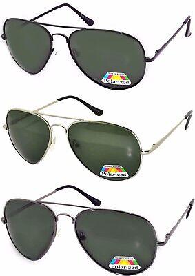 Set of 3 Men Polarized Sunglasses Aviator Eyewear Glasses Spring MIX 100% UVB ()