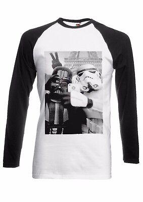 Star Wars Storm Trooper Selfie Men Women Long Short Sleeve Baseball T Shirt 9