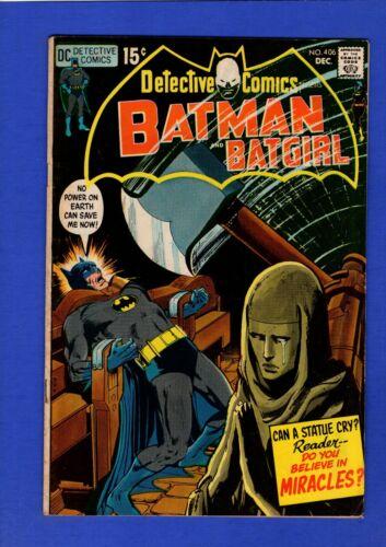 DETECTIVE COMICS #406 BATMAN FN+ BRONZE AGE DC NEAL ADAMS COVER
