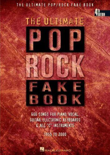 The Ultimate Pop/Rock Fake Book