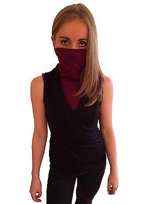 Masque Costumes (Elektra Assassin Masqué Cosplay Costume T-Shirt Masque Déguisement)