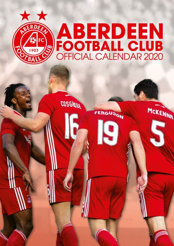 Aberdeen+FC+2020+Official+A3+Wall+Calendar