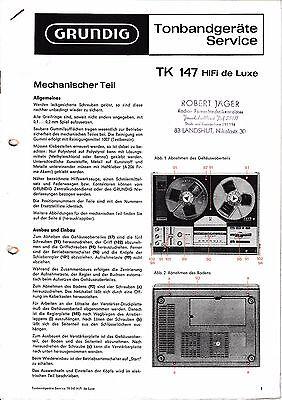 981.115 H Service Manual-anleitung Für Nordmende Discocorder Rk 4186 Anleitungen & Schaltbilder