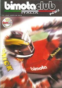 RIVISTA-ORIGINALE-BIMOTA-CLUB-N-34-LUGLIO-AGOSTO-1999-ORIGINAL-MAGAZINE-BIMOTA