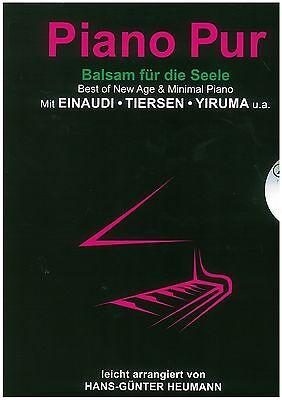 Heumann - Piano Pur - Balsam für die Seele - für Klavier - inkl. CD