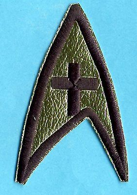 Classic TOS Star Trek Chaplain Embroidered Patch  -