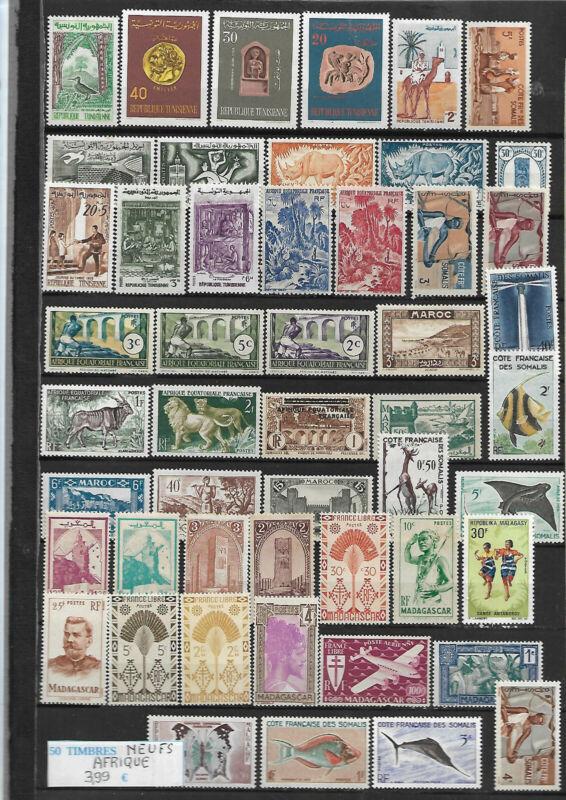 200 timbres diff/érents Collection de timbres Afrique Du Sud oblit/ér/és
