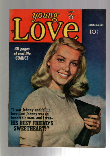 YOUNG LOVE #4 PRE CODE RACY JACK KIRBY GOOD GIRL ART 1949 CANADIAN